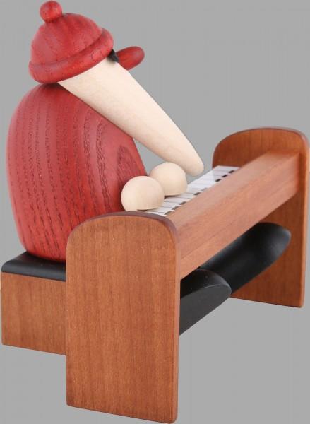 Weihnachtsmann am Piano