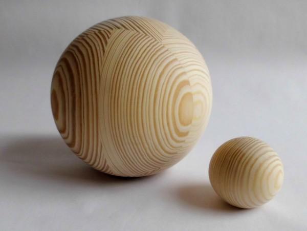 Holzkugeln Kiefer