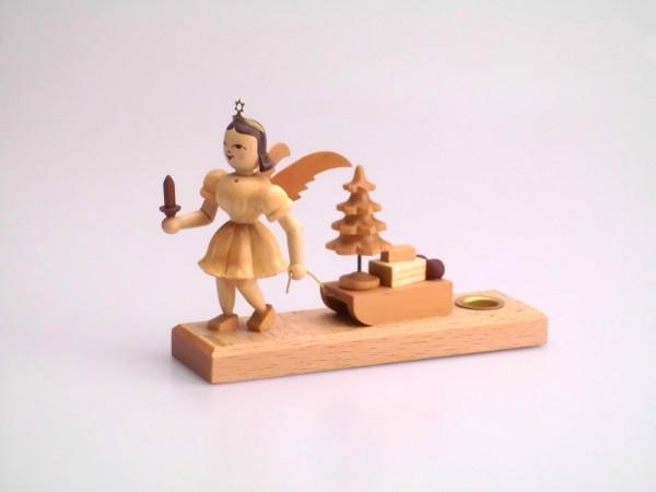 Engel mit Schlitten