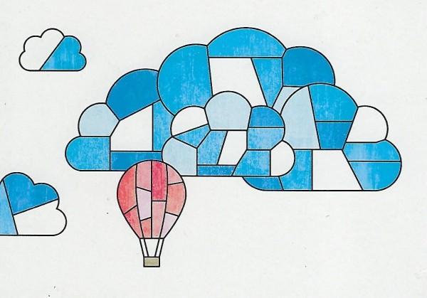 Karte AK.006 Balon