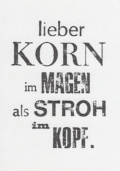 Karte AK.008 Korn+Stroh