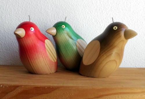 Piepmatz  - Holzfigur gedrechselt