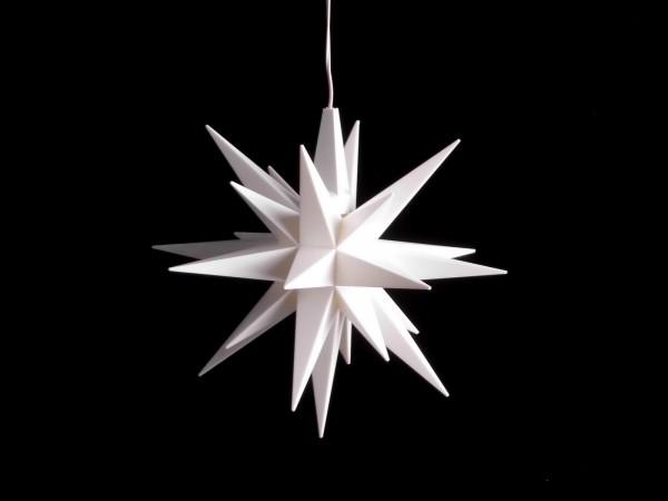Stern A1e weiß D=13cm