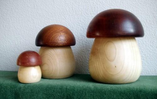 Pilz-Ahorn - Kappe braun