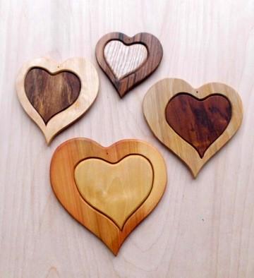 Fensterdeko Herz