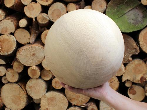 1-Holzkugel-25cm